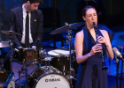 Performing at Moonglow: The Magic of Benny Goodman in The Appel Room at Jazz @ Lincoln Center March 2016. Photo by Lawrence Sumulong.