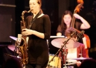 Performing with DIVA at Dizzy's Jazz Club at Lincoln Center.