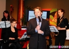Performing with Clay Aiken at a benefit concert.