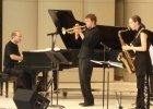 "With Ted Rosenthal (Phil Dizack on trumpet) performing ""SwingFlight""."